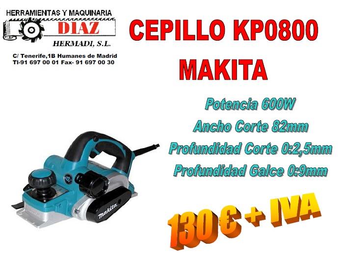 Cepillo KP0800 Makita Oferta