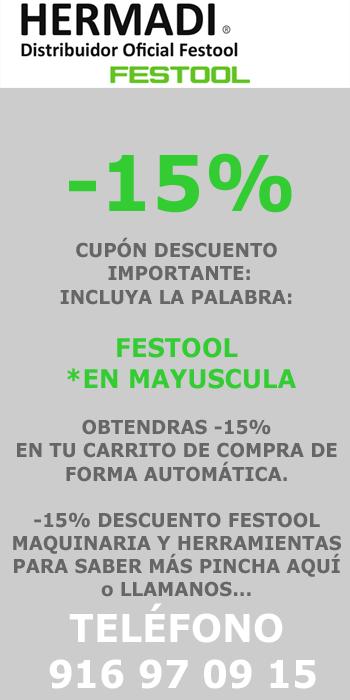 Tienda Festool Oferta Online de Maquinaria y Herramientas Festool
