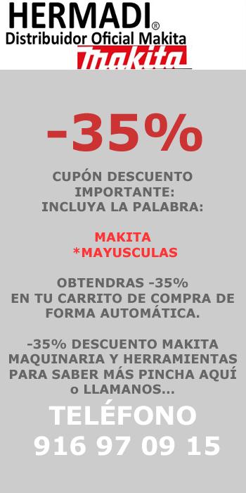 DECUENTO MAKITA CUPON -35% EN TODO EL CATÁLOGO